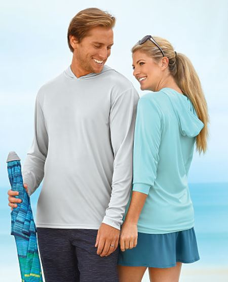 ADULT-Paragon Bahama Long Sleeve Hooded Performance Tee
