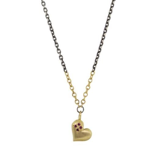 Sweet Heart Four Star Necklace