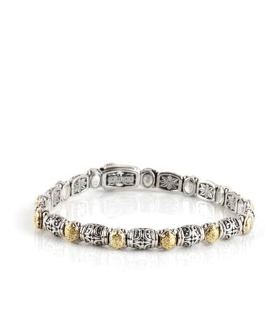 Hermione Collection Dotted Clasp Bracelet