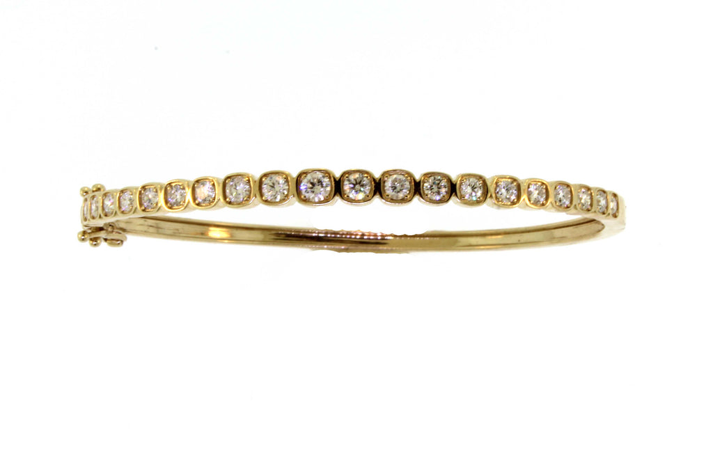 Hinged Diamond Bangle
