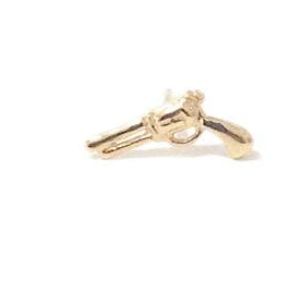 Single Pistol Stud Earring