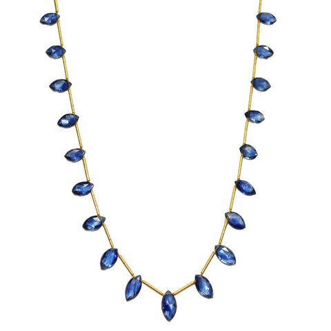 Kyanite Stationed Necklace