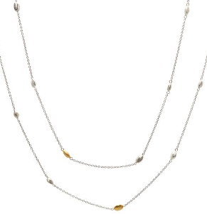 "Spell Long Station Necklace (36"")"