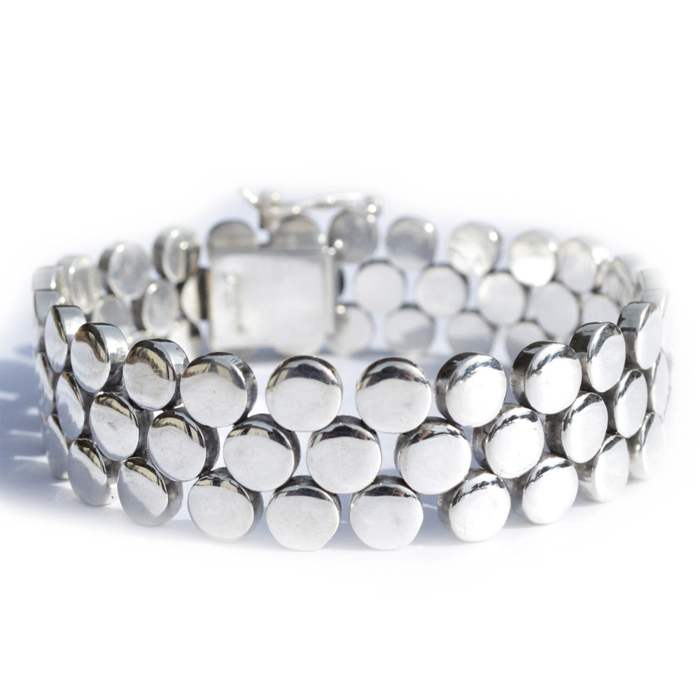 Pat Areias Triple Row Circle Bracelet