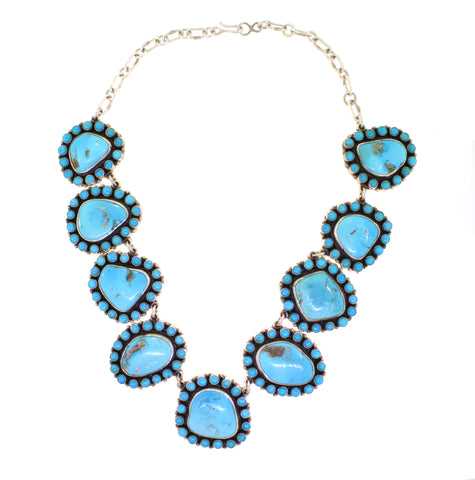Don Lucas Cluster Turquoise Necklace