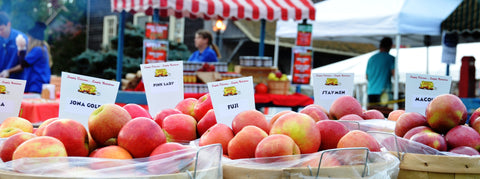It's all about APPLES at Peddler's Village!