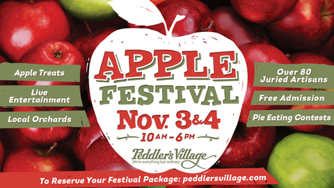 Celebrate Apple Season at Peddler's Village 45th Apple Festival Nov 3 & 4!