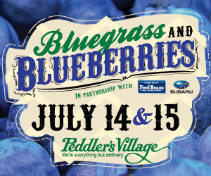 Book Your Bluegrass & Blueberries Festival Package and Blueberry Pie!