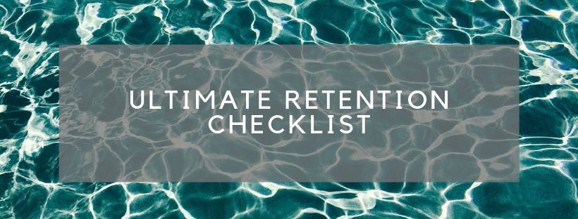 #55 - RETENTION CHECKLIST