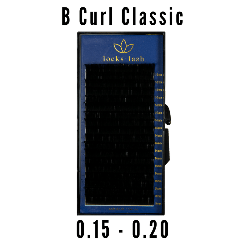 B 0.20 Curl Classic Lash Tray - CLEAROUT