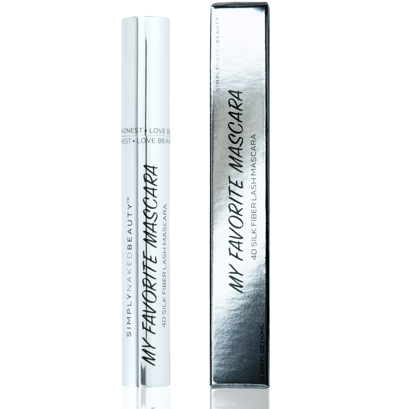 RRP My Favorite Mascara - 4D Silk Fiber Lash Mascara - From Simply Naked Beauty