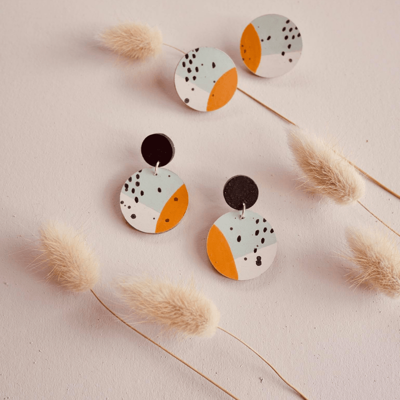 Handmade Earrings by Clouds Of Colour