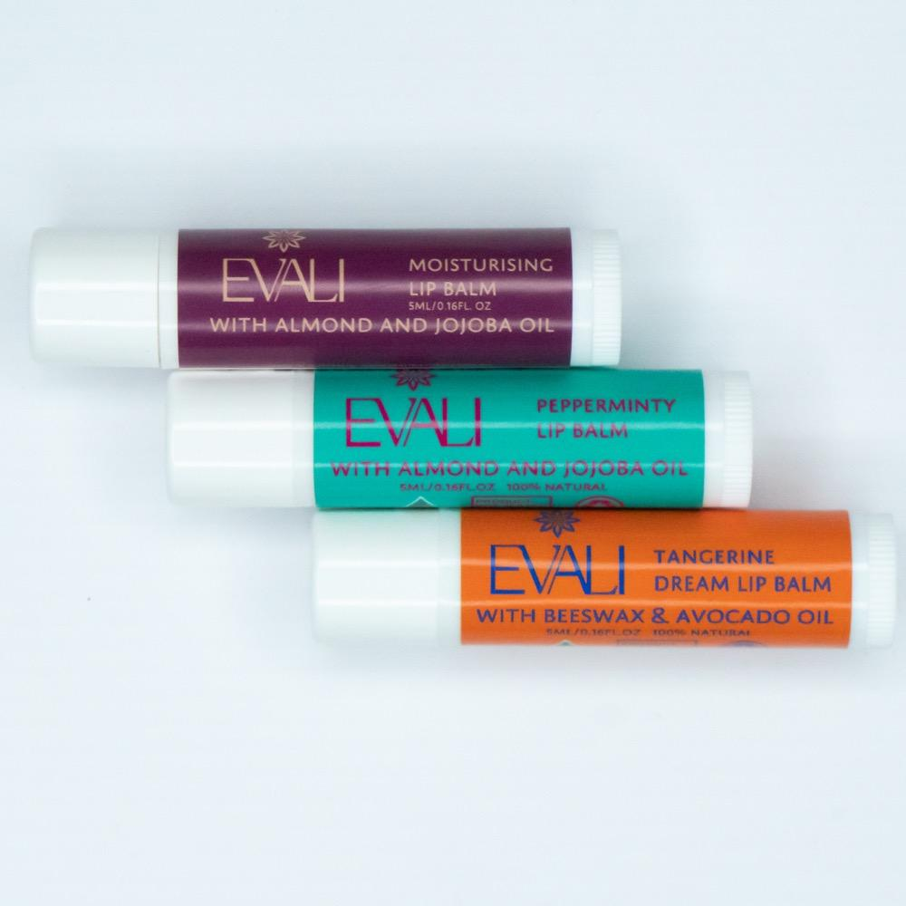 Evali Natural Lipbalms