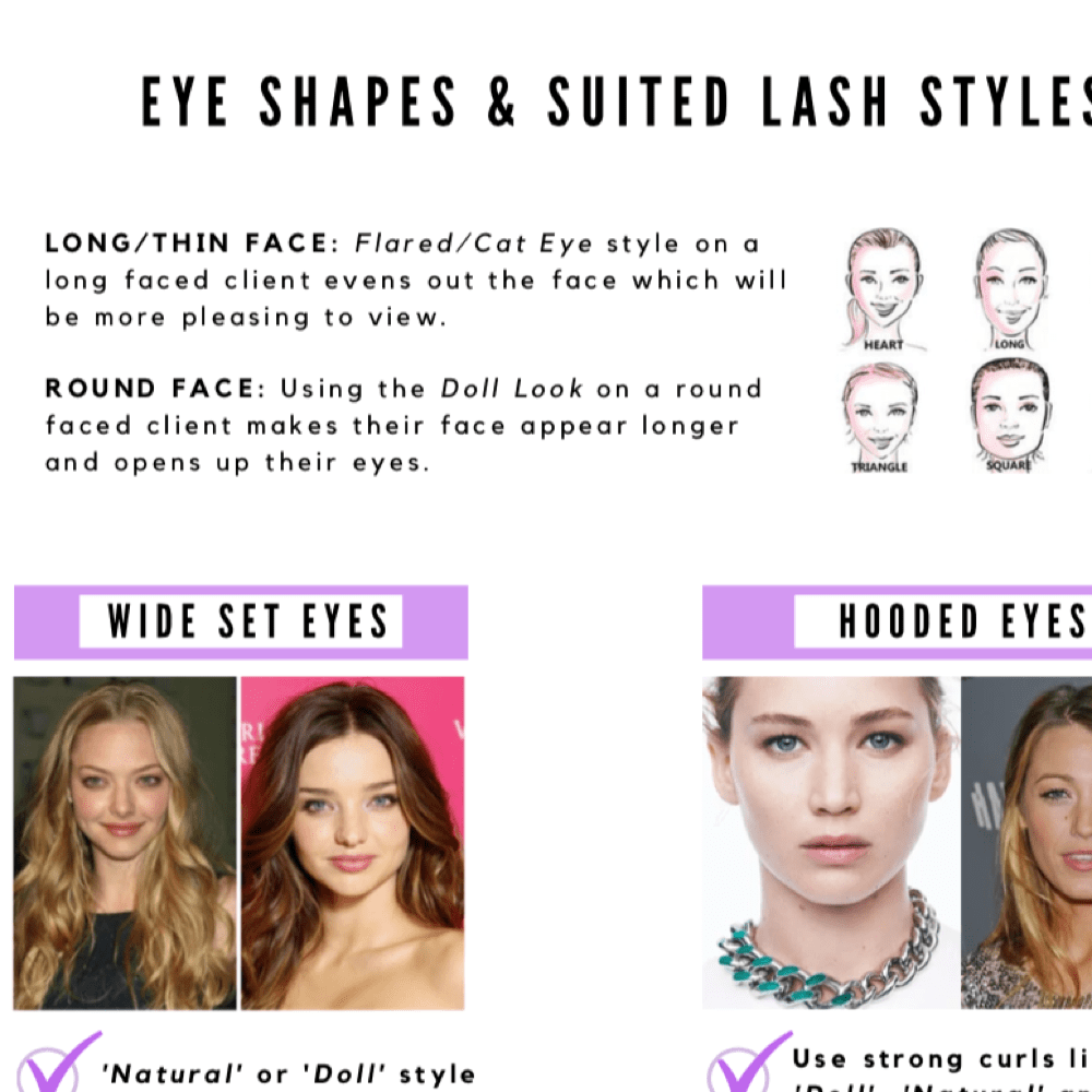 Downloadable Face Shape Guide (FREE if brought with other products)