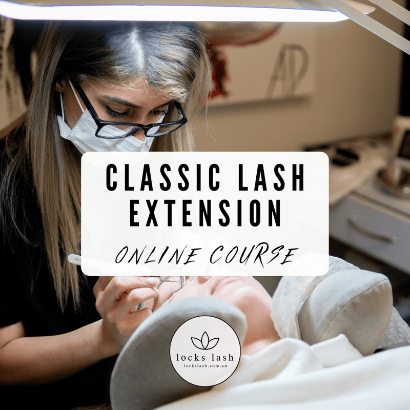 Classic Eyelash Extension Training ONLINE COURSE