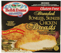 Bell & Evans Breaded Boneless, Skinless Chicken Breasts
