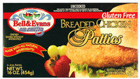 Bell & Evans Breaded Chicken Patties