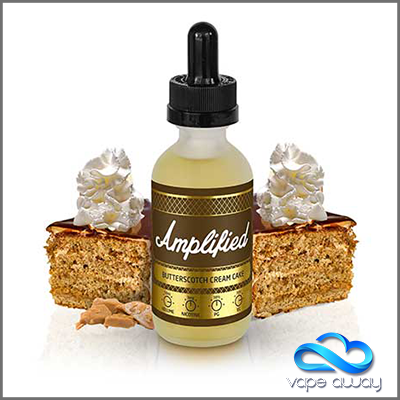 AMPLIFIED- BUTTERSCOTCH CREAM CAKE - Vape Away