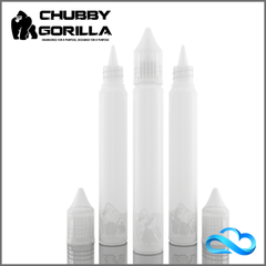 Chubby Gorilla - WHITE TRANSPARENT 15-17ML UNICORN BOTTLE