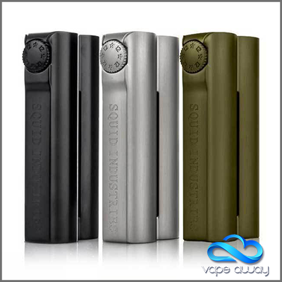 ** RESTOCK - DOUBLE BARREL V2.1 - 150W MOD BY SQUID INDUSTRIES - Vape Away