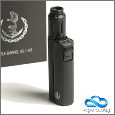 SQUID INDUSTRIES - DOUBLE BARREL V2.1 WITH PEACEMAKER TANK KIT - Vape Away