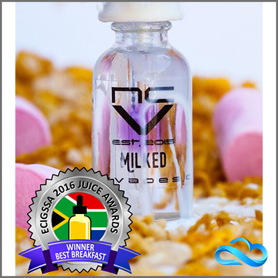 NCV - Milked e-liquid - 3mg - VapeAway.co.za
