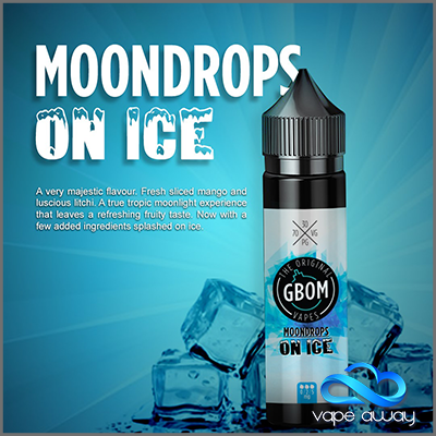 GBOM - MOONDROPS ON ICE - Vape Away