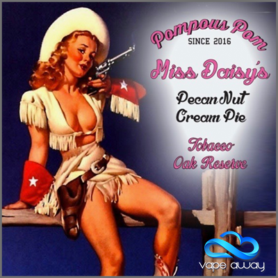 Pompous Pom - MISS DAISYS PECAN NUT CREAM PIE TOBACCO RESERVED - Vape Away