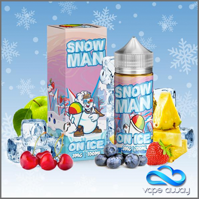 SNOW MAN - 100ml - 3mg - Vape Away