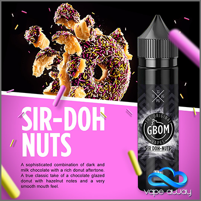 GBOM - SIR DONUTS - Vape Away