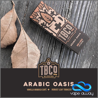 TBCo - ARABIC OASIS - 60ml - 3MG - Vape Away