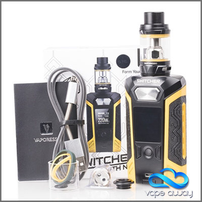 VAPORESSO - SWITCHER KIT WITH 5ML NRG TANK - Vape Away