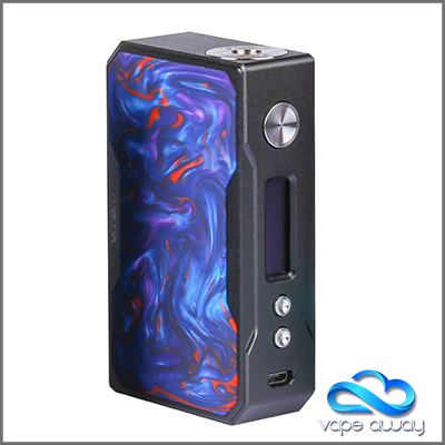 VOOPOO DRAG 157W - BLACK RESIN EDITION - Vape Away