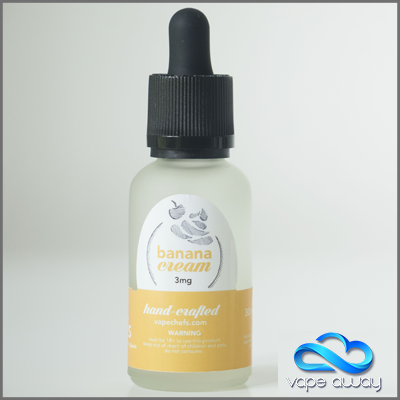VAPE CHEFS - BANANA CREAM - Vape Away