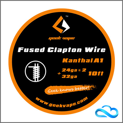 GeekVape Kanthal A1 Fused Clapton Wire 24GAx2+32GA