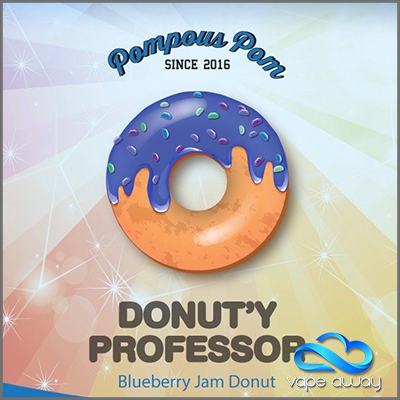 Pompous Pom - THE DONUT'Y PROFESSOR - Vape Away