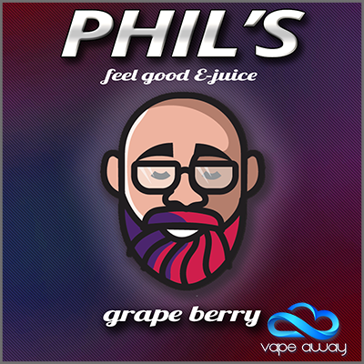 PHIL'S - GRAPE BERRY - Vape Away