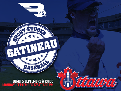 Financial support to the Gatineau High School Baseball Program
