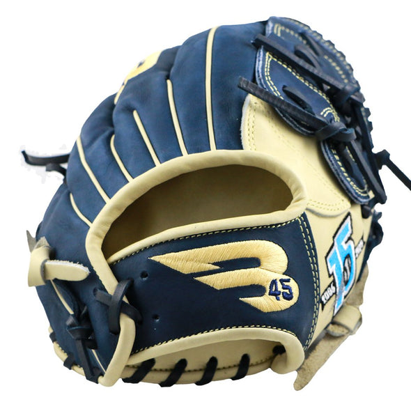 "B45 Baseball Canada Fielding Gloves Left-Hand Throw Pro Series 12.25"" Closed Web Baseball Glove 