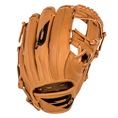"B45 Baseball Canada Fielding Gloves Left-Hand Throw / Tan with Black logo Pro Series 11.25"" I-Web Baseball Glove (2017 Model)"