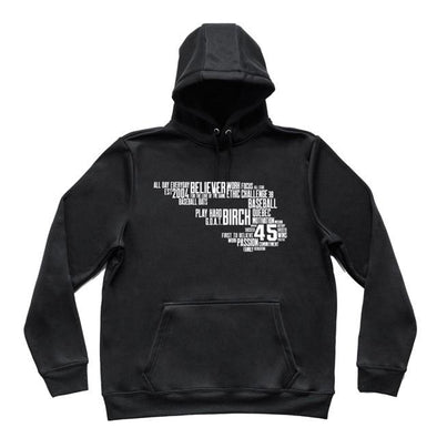 B45 Baseball Canada Apparel Small / Black B-Word Hoodie
