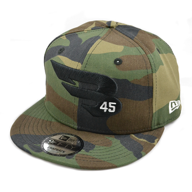 New Era Cap Headwear Small-Medium Camo 9FIFTY New Era Snapback Hat