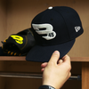 Navy 9FIFTY New Era Snapback Hat