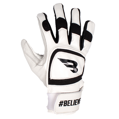 B45 Batting Gloves Small / Black #BELIEVE Series Batting Gloves