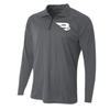 B45 Baseball Canada Apparel Small / Graphite 1/4 Zip Long Sleeve Pullover