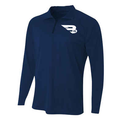 1/4 Zip Long Sleeve Pullover