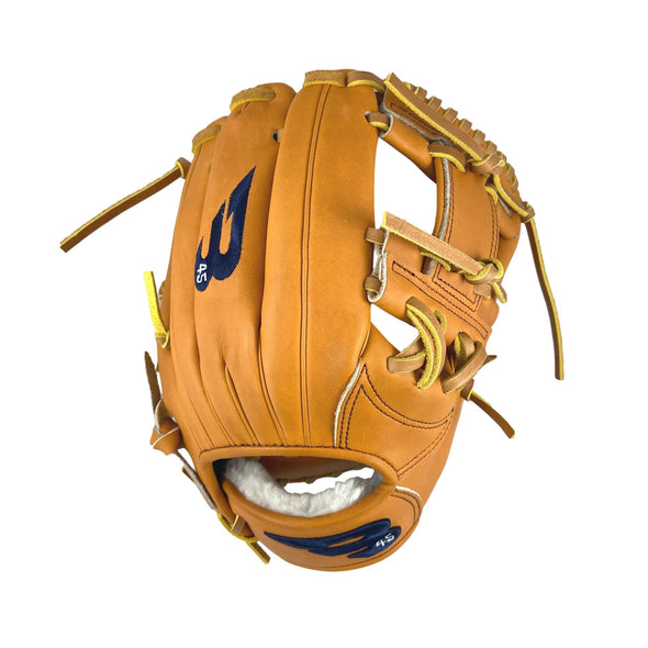"B45 Baseball Canada Fielding Gloves Right-Hand Throw / Navy Blue Pro Series 11.5"" I-Web Baseball Glove"