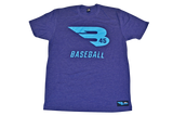 B45 Apparel Storm with Blue logo / Small B45 First To Believe Premium T-Shirt