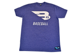 B45 Apparel Storm with White logo / Small B45 First To Believe Premium T-Shirt