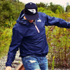 B45 Baseball Apparel Packable Rain Jacket